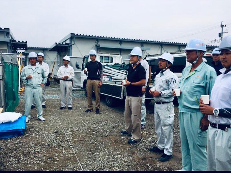 熊本型復興住宅をテクノ団地内にKKNメンバーとして参加