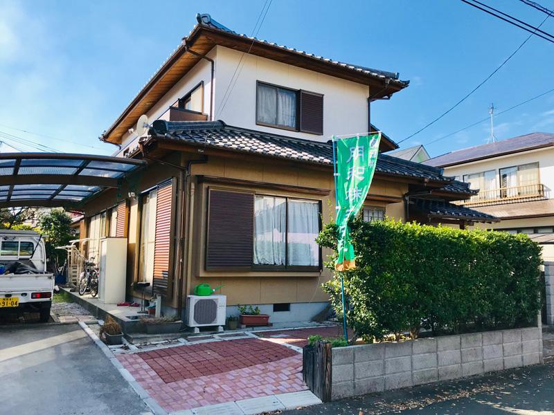 熊本市東区画図町の家
